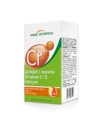Дрожжи с хромом, витаминами C и E Angel Nutritech